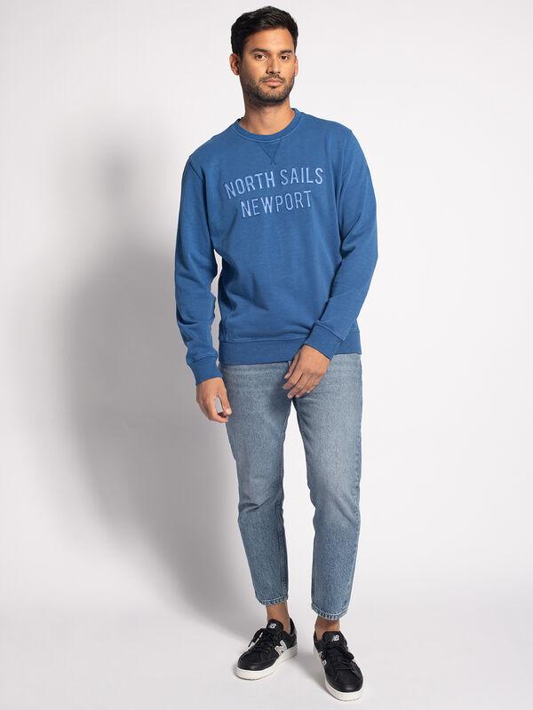 NORTH SAILS Mens Round Neck W//Graphic Sweatshirt