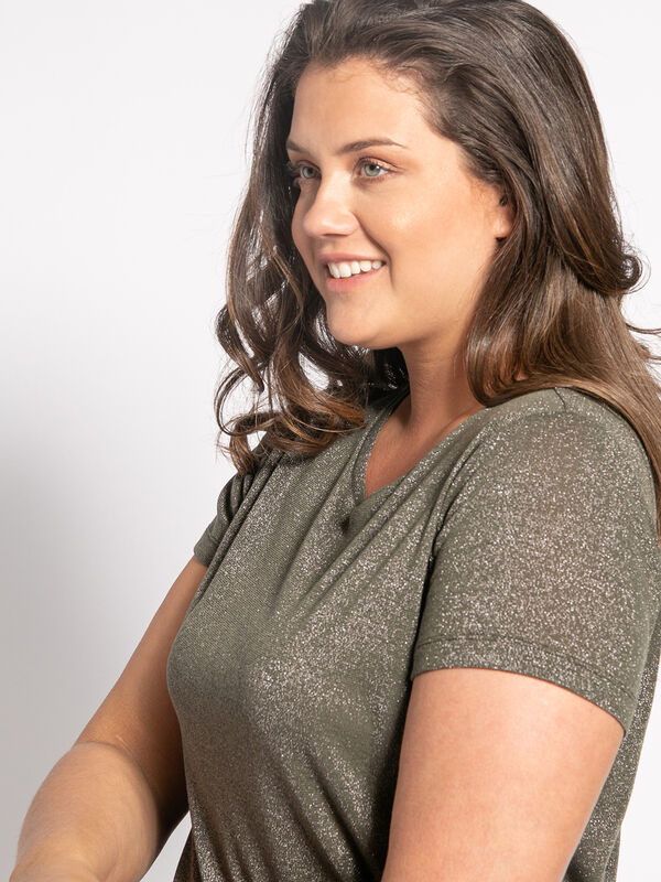 Knitted Top (plus size)