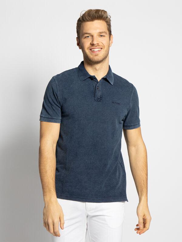 Hackett London Mens Slim Fit Logo Polo Shirt