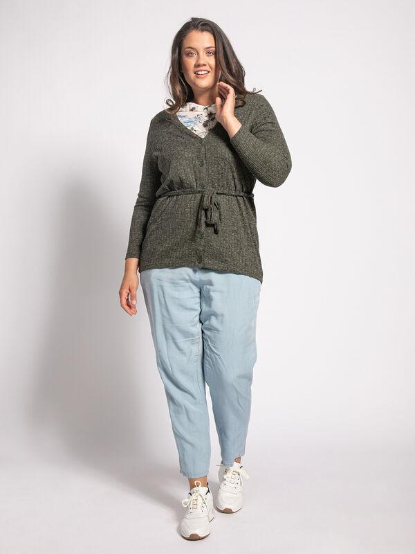 Cardigan (plus size)
