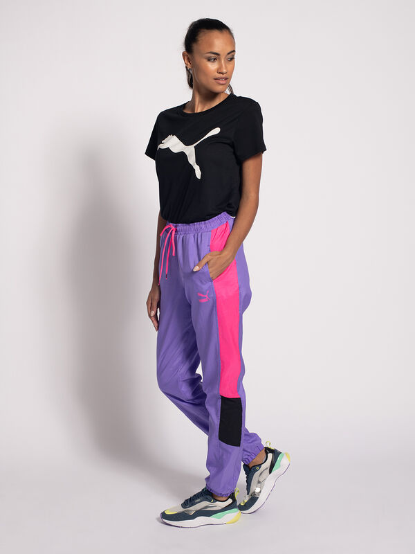 Escudriñar hostilidad Grave  Puma TFS OG Retro Pants lila/neonpink/schwarz | Dress-for-less
