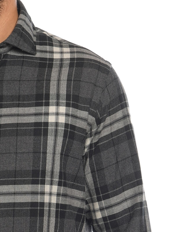 Regular-Fit Flannel Shirt