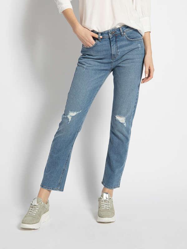 Fran Cropped Jeans