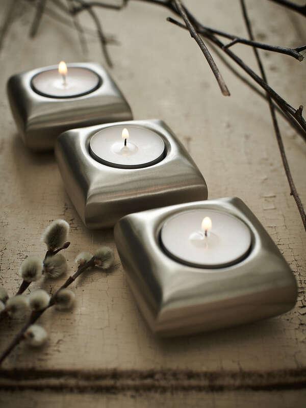 tealight holder set of 3