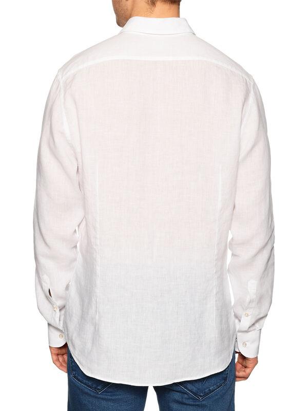 Regular-Fit Linen Shirt