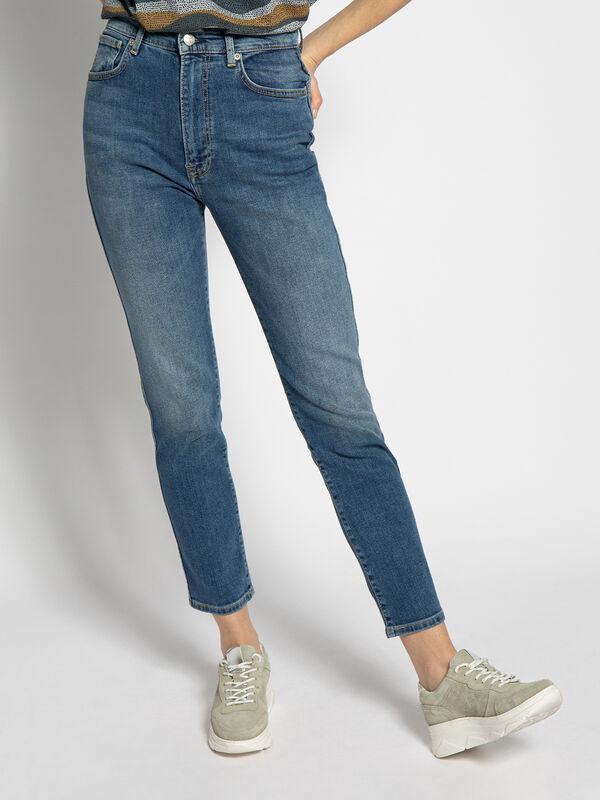 Pepe Jeans Betty Straight Leg Denim Blau Dress For Less