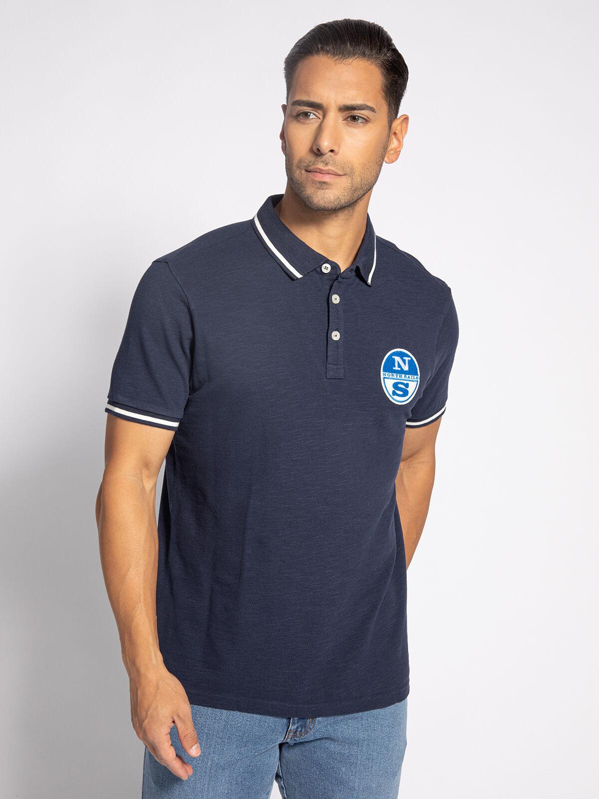 2 Farben North Sails //////// Polo Shirt mit Kurzarm