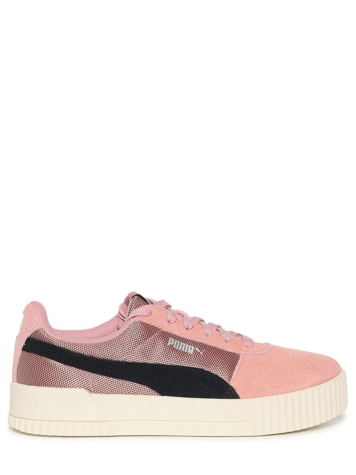 Puma Sneaker Carina Lux SD rosa/schwarz