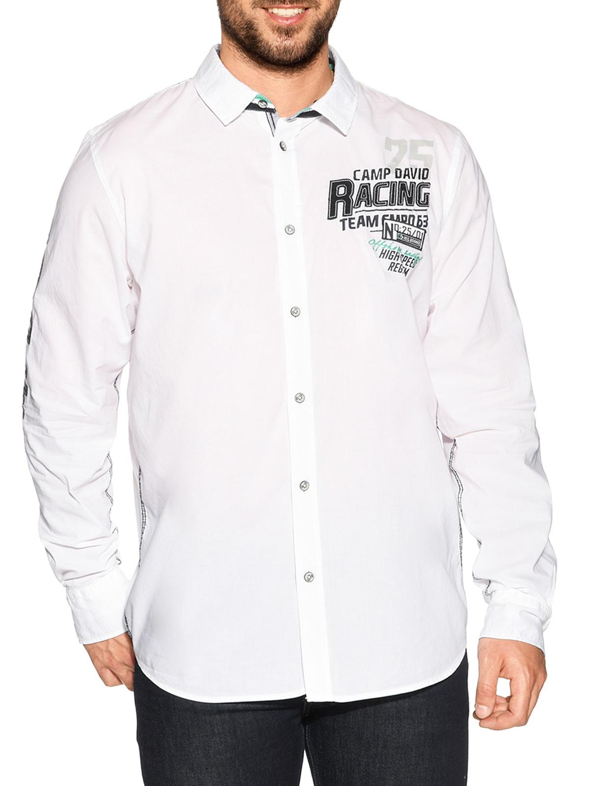 Camp David NCAA Cruiser Mens Premium Short Sleeve Crew Neck Tee